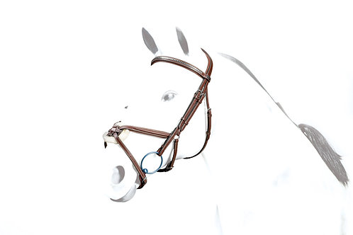 No-Stress Figure-8 Bridle with clincher browband