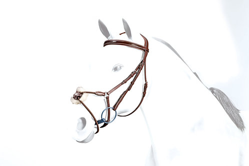 No-Stress Figure-8 Bridle with Elastic noseband