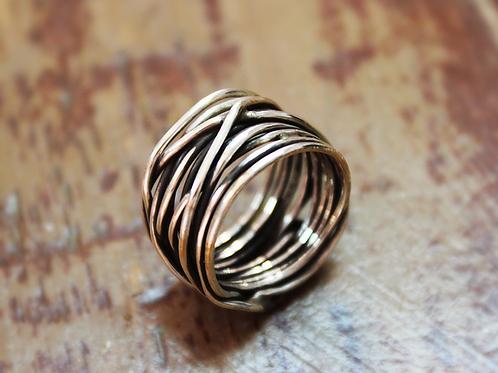 Ασημένιο δαχτυλίδι unisex  D32