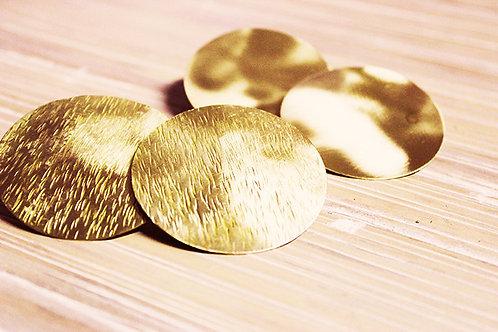 Σκουλαρίκια  με υφές EA07