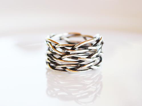 Ασημένιο δαχτυλίδι  ιδανικό και για γυναίκα αλλά και για άντρα D61