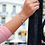Thumbnail: Ασημένιο ανοιχτό βραχιόλι με τυρκουάζ αχάτη B16