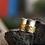 Thumbnail: Ασήμι-Χρυσός 14κ -Φαρδύ ασημένιο δαχτυλίδι με 5βέργες-spinner ring D71