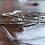 Thumbnail: Σετ 7 Ασημένια βραχιόλια το 'ενα με οπαλ  B21