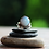 Thumbnail: Ασημένιο δαχτυλίδι με Οπάλιο πέτρα  D45
