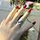 Thumbnail: Ασημένιο φαρδύ δαχτυλίδι- μονόγραμμα D74