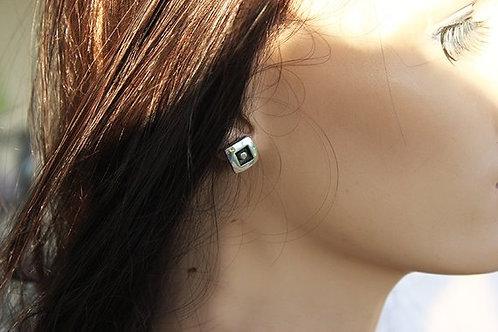 Ασημένια σκουλαρίκια  EA16