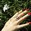 Thumbnail: Ασημένιο δαχτυλίδι με 0,8cm Οπάλιο  D75