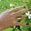 Thumbnail: Ασύμμετρο ασημένιο δαχτυλίδι D73