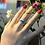Thumbnail: Ασημένιο δαχτυλίδι με λέξη επιλογής σας! D83