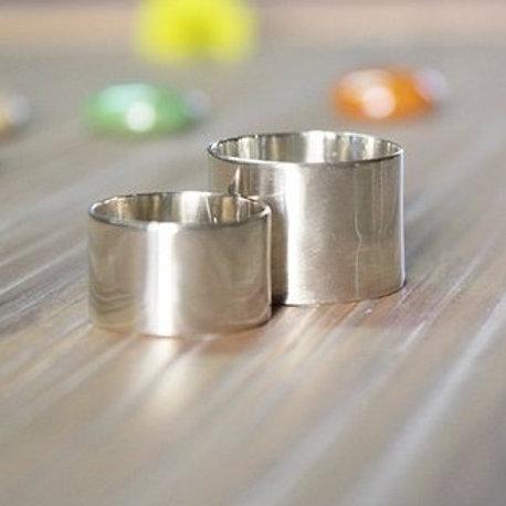 Ασημένιο  σετ  2 δαχτυλιδιών D21