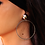 Thumbnail: Ασημένια σκουλαρίκια ,κρίκοι EA27