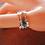 Thumbnail: Ασήμι-Χρυσός14κ -δαχτυλίδι με φράση επιλογής σας-spinner ring D64