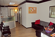 Edinburgh wellbeing Centre reception are