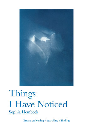 Things I Have Noticed (EBook)