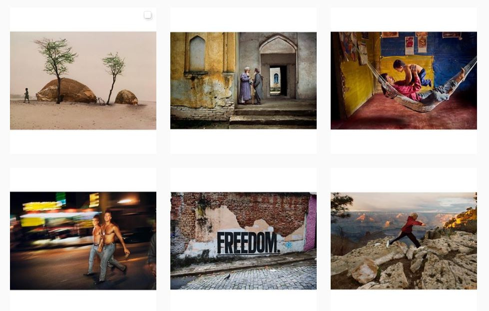 Steve McCurry's Instagram Feed