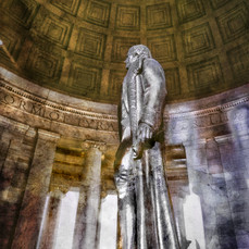 Jefferson Memorial Monument - Washington DC 3 sepia.jpg