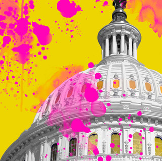 Washington Capitol Pop 2903 yellow