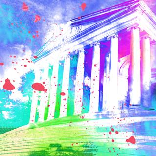 Lincoln Memorial 15-purple