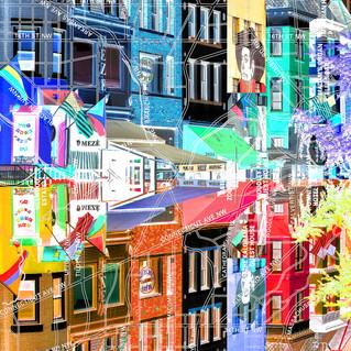 Adams Morgan Collage Washington DC Pop Art 2