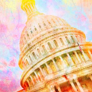 Washington DC Capitol 9636 - color