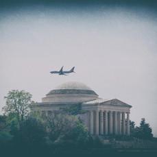 Jefferson Memorial Plane DC 2870-2