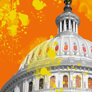 Washington Capitol Pop 2903 orange