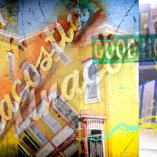Anacostia Collage Washington DC Pop Art