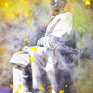 Lincoln Memorial  Yellow 1820