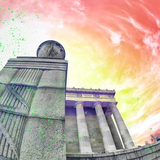 Lincoln memorial 4911-color