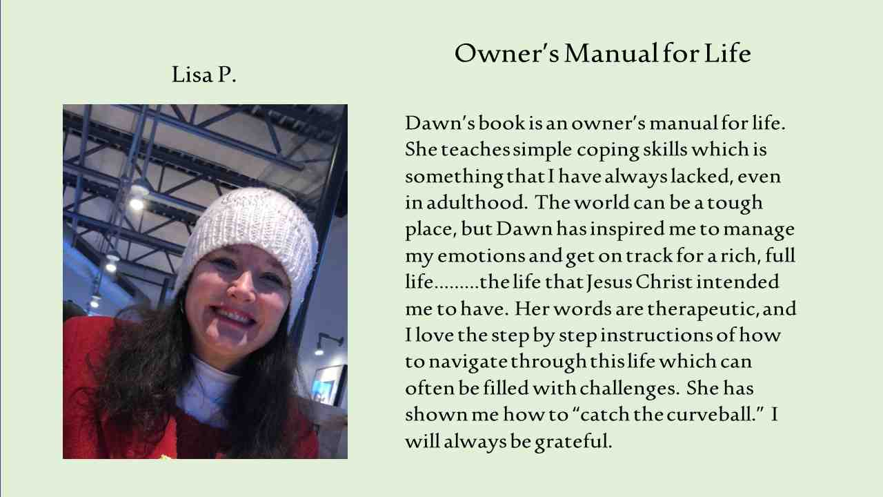 Owners Manual for Life - Lisa P