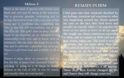 Remain in Him - Melissa S