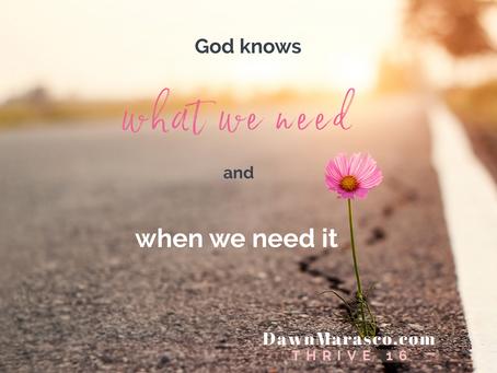 GOD IS FAITHFUL TO KEEP US