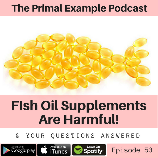 PEP 53: Fish Oil Supplements Are Dangerous, Hormone Disrupting Cosmetic Ingredients, and Flax Seeds
