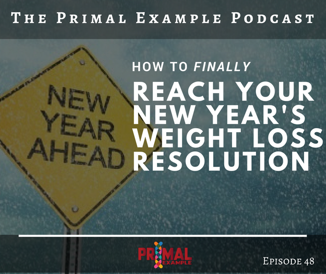PEP 48: How to Finally Reach Your New Year's Weight Loss Resolution