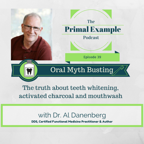 PEP 39: Oral Myth Busting: The Truth About Teeth Whitening, Activated Charcoal and Mouthwash with Dr