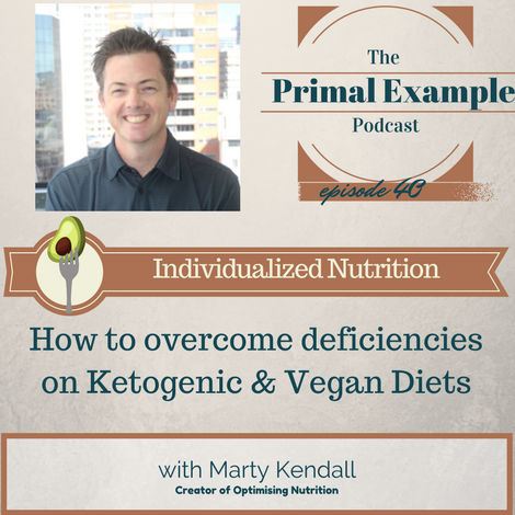 PEP 40: Deficiencies in Vegan and Ketogenic Diets & Individualized Nutrition w/ Marty Kendall