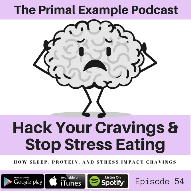PEP 54: Hack Your Cravings & Stop Stress Eating
