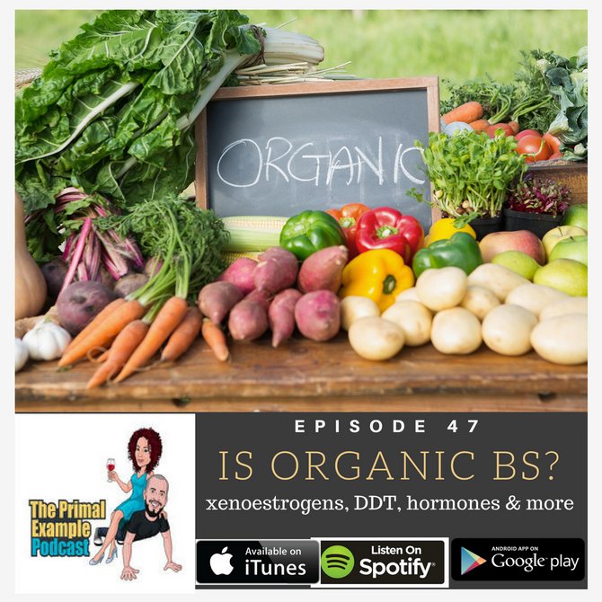 PEP 47: Why Organic Isn't BS: Xenoestrogens, DDT, & More