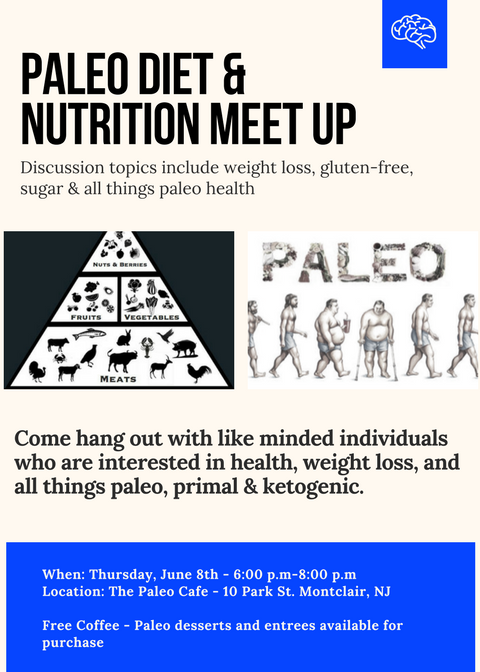 Join us for a Free Paleo Networking Hangout