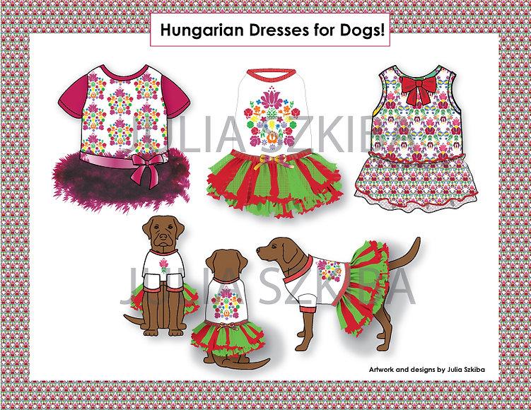 Hungarian-Dog-Dresses-apparel-pet-clothe