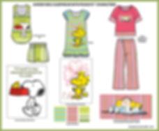 Szkiba_Peanuts_Junior_Girls_Sleepwear.jp