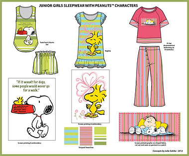 Szkiba_Peanuts_Junior_Girls_Sleepwear.jp