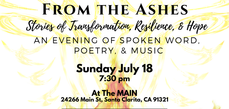 FROM THE ASHES: Spoken Word