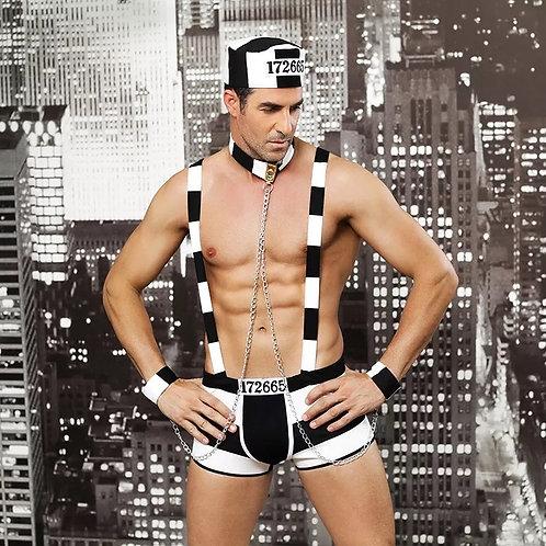Male Prisoner Suit #6615