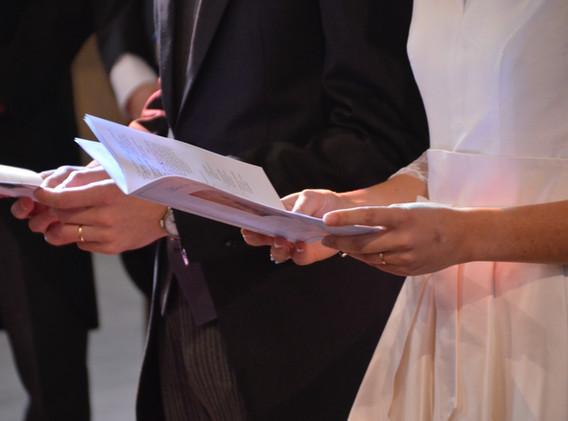 Les livrets des mariés