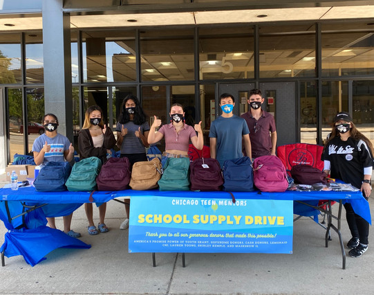 Thank you to our school supply drive volunteers (8/22/20)!