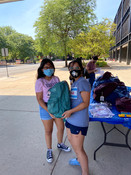 Passing out backpacks (8/22/20)!