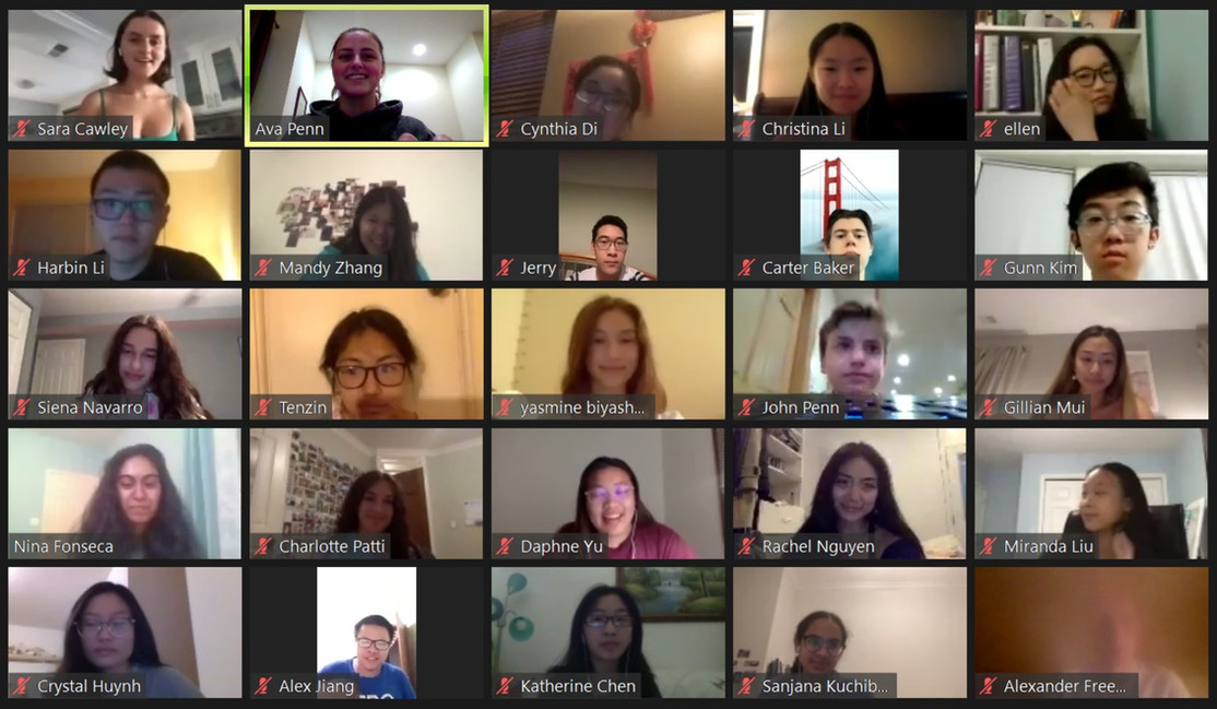 1st virtual discussion with our tutors (7/1/20)!