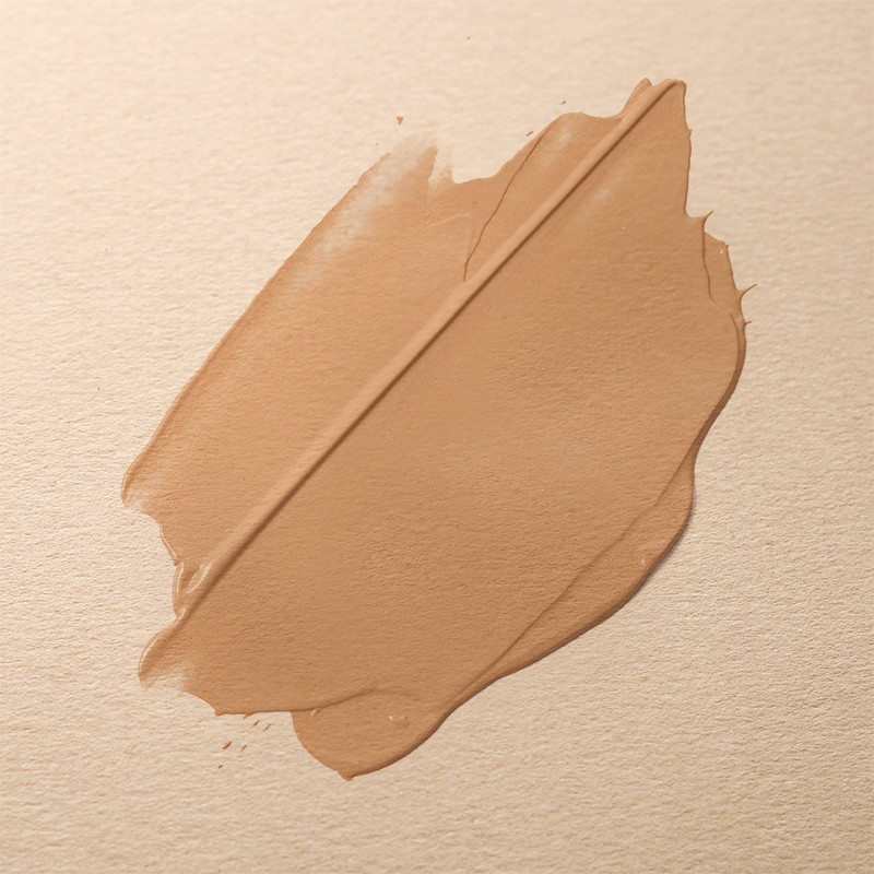 Smear of makeup foundation on paper.